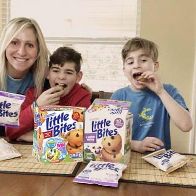 Super Spongebob Celebration + Giveaway with Entenmann's Little Bites and Nickelodeon
