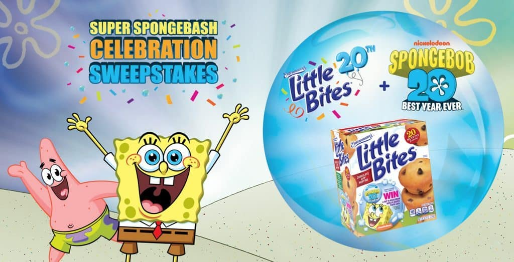 little bites spongebob sweeps promotion 2019