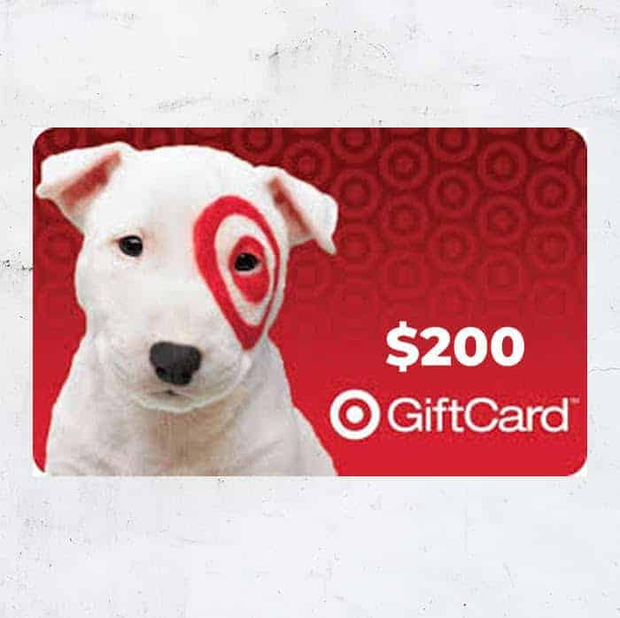 200 target gift card giveaway november 2019