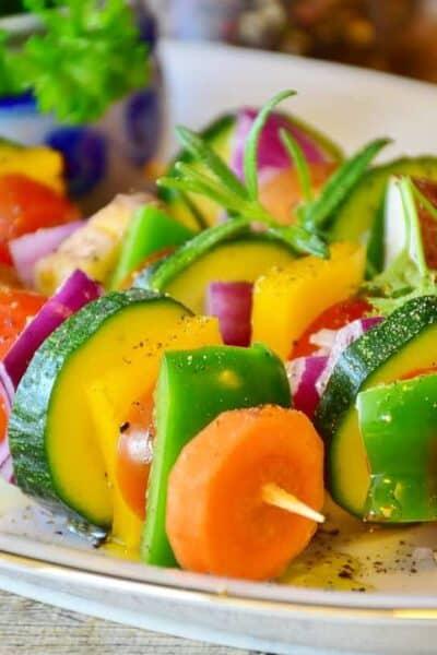 vegetable-skewer-healthy eating chopped veggies