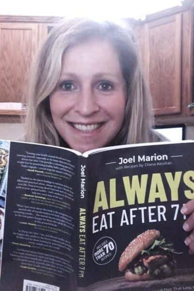Rachel Austin Blogger Always eat after 7pm book