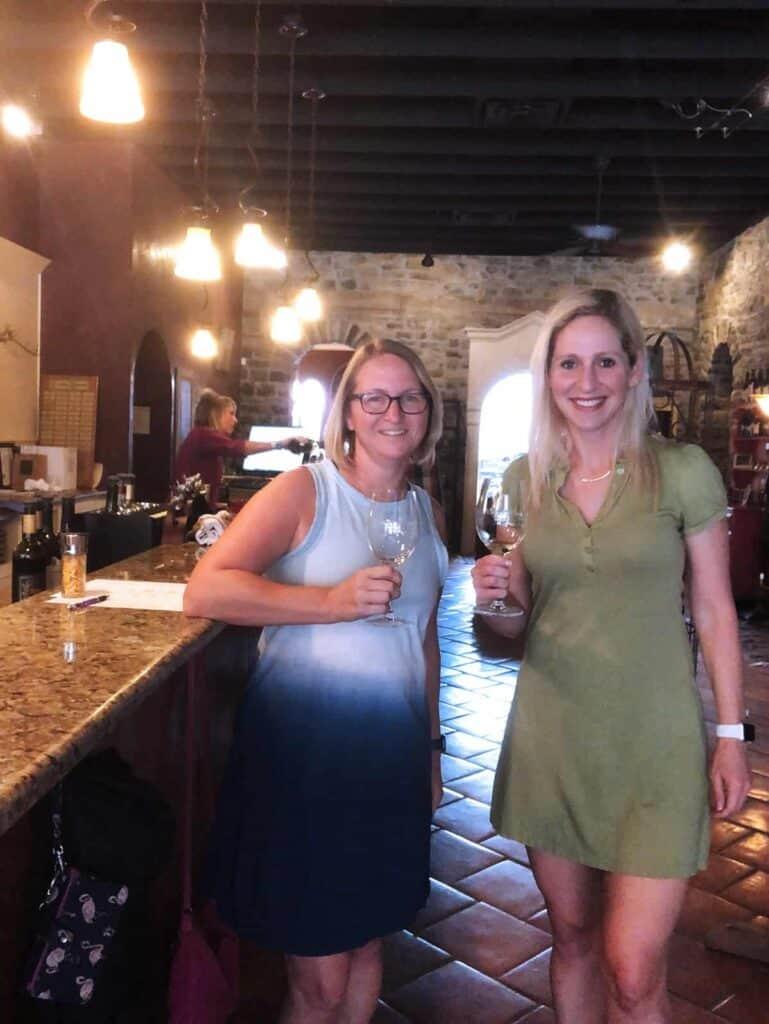 Wedding Oak Winery - Two Women Wine Tasting